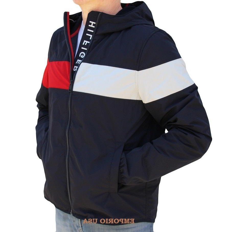 TOMMY HILFIGER 2018 Men's Yacht Athletic Jacket Windbreaker