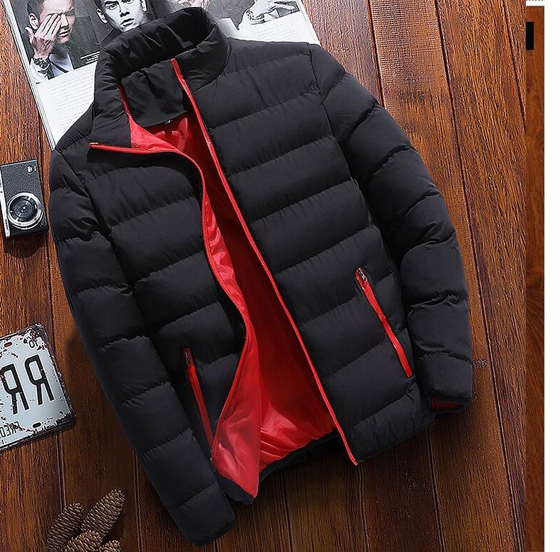 2019 New winter <font><b>jacket</b></font> <font><b>men's</b></font> printing <font><b>jacket</b></font> high quality candy stripe <font><b>jacket</b></font>,