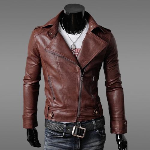 2019 New Autumn Motorcycle Slim <font><b>Men's</b></font> <font><b>Jacket</b></font> <font><b>Jacket</b></font> <font><b>Men's</b></font> Color Fashion