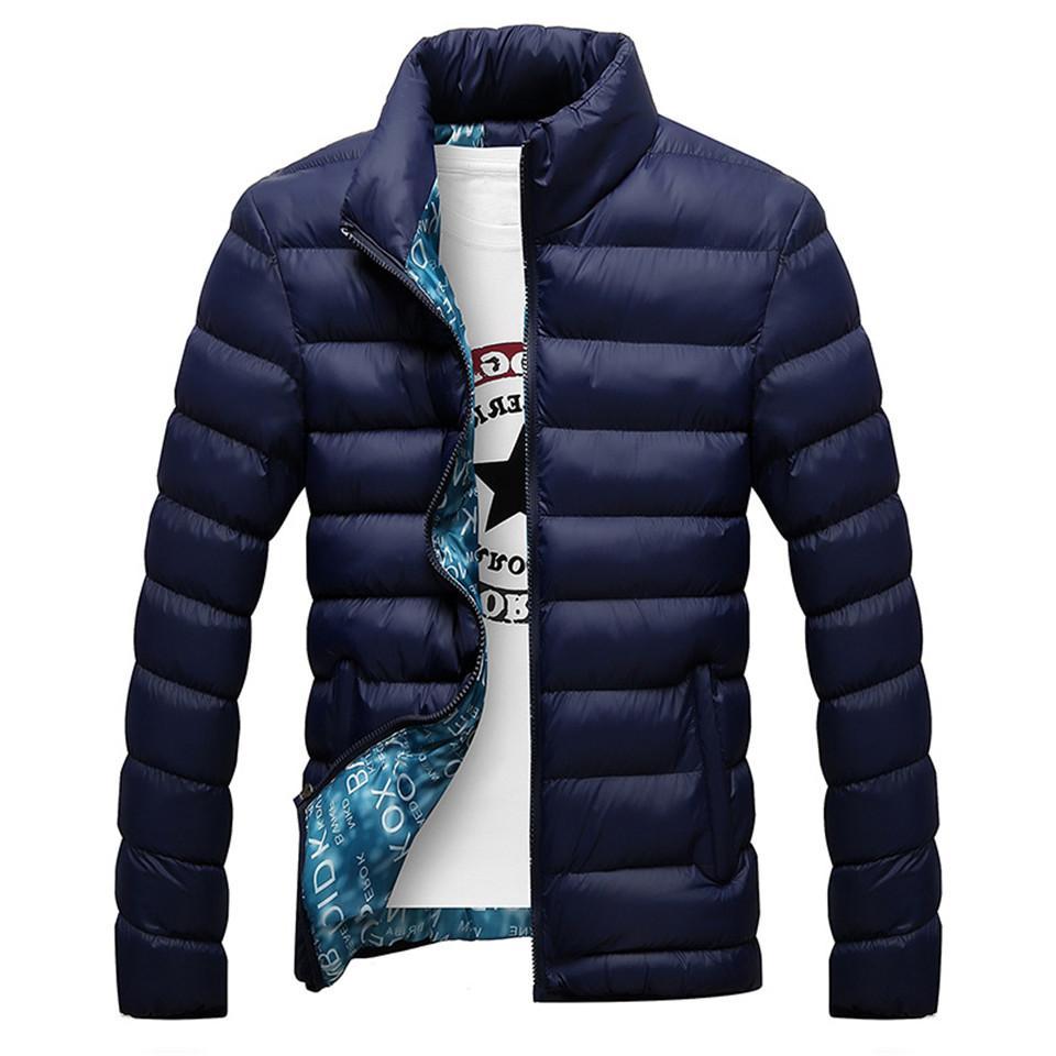 RUELK Top Quality Warm Outerwear Coat <font><b>Men</b></font>