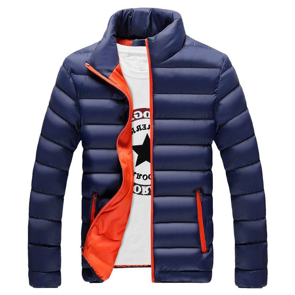 RUELK Winter <font><b>Jacket</b></font> Outerwear Thick <font><b>Medium</b></font> Coat <font><b>Men</b></font> Parka