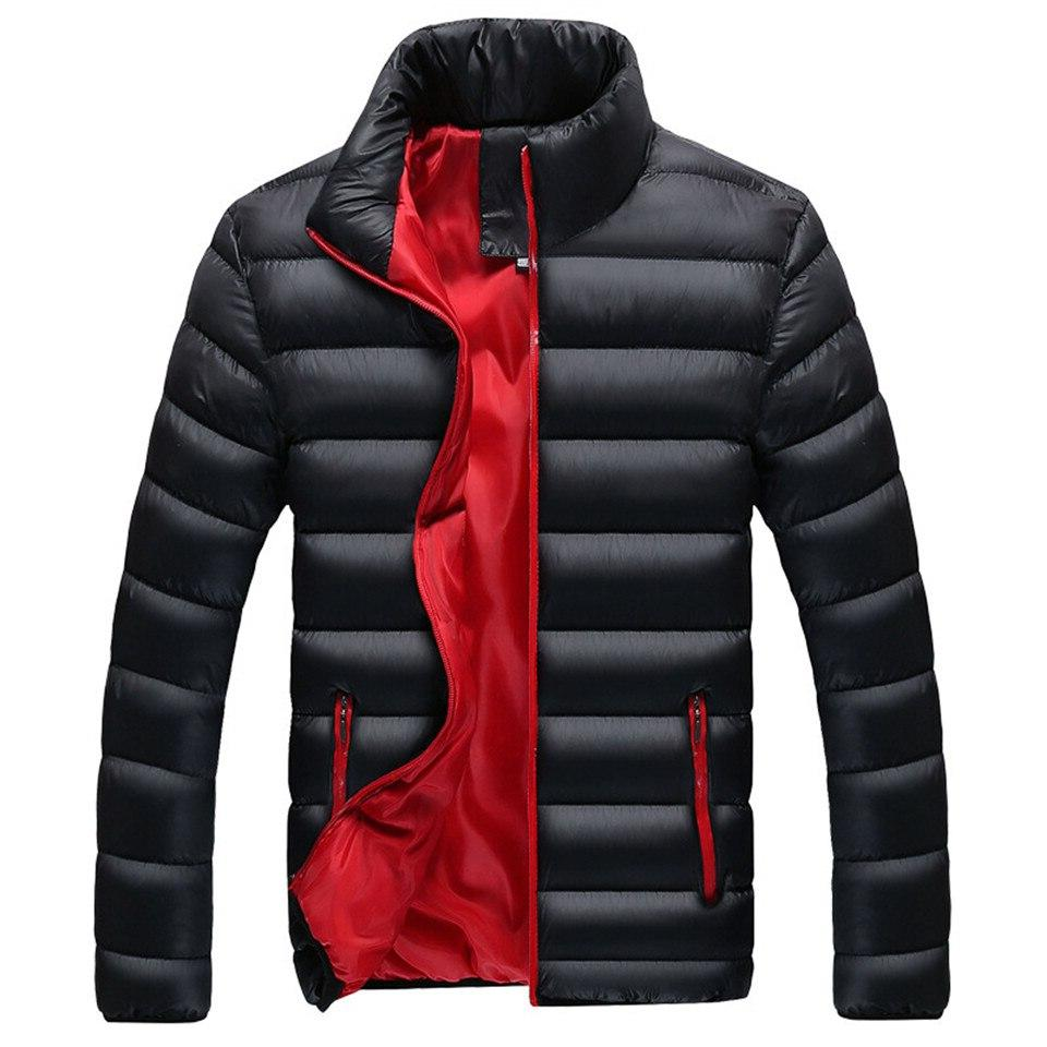 RUELK Quality Warm Winter Casual Outerwear Thick <font><b>Medium</b></font> Coat <font><b>Men</b></font>