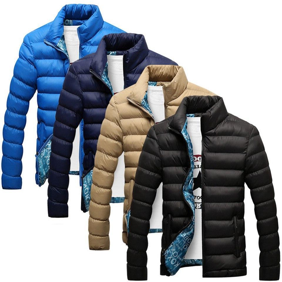 RUELK 2019 Quality <font><b>Men's</b></font> Winter Windproof Outerwear Coat Parka