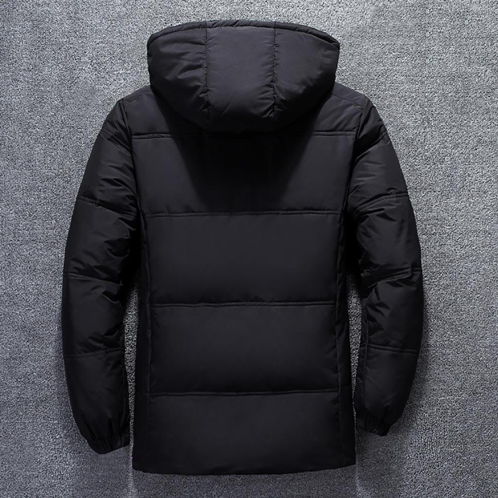 2019 Quality Snow Black Male - Duck <font><b>Jacket</b></font>