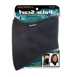 Seirus Innovation Unisex Polar Scarf, Black, Large/X-Large