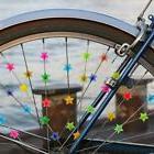 36pc Colored Bicycle Bike Wheel Plastic Spoke Bead Children