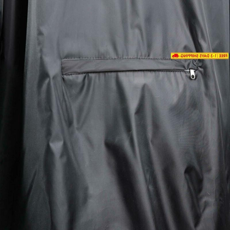 4Ucycling Wind Jacket Coat Outdoor,Black Siz