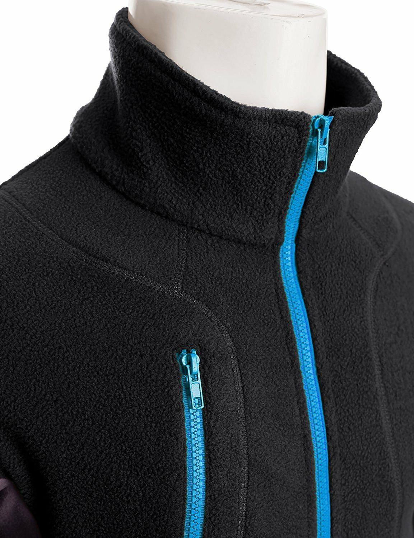 Doublju Zipper Colorblock Jacket