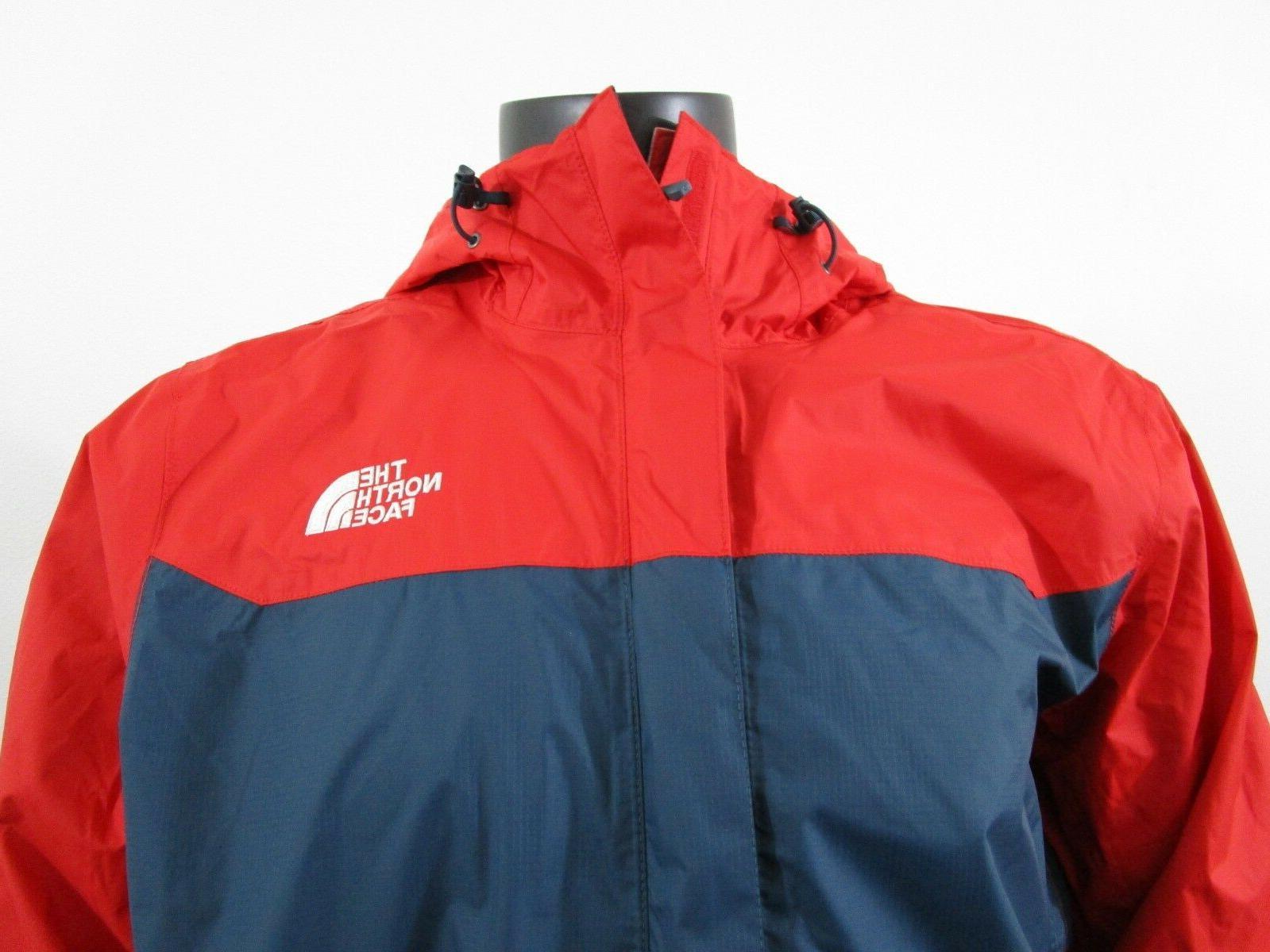 Mens The Face Dryvent Waterproof Hooded Jacket Kodiak
