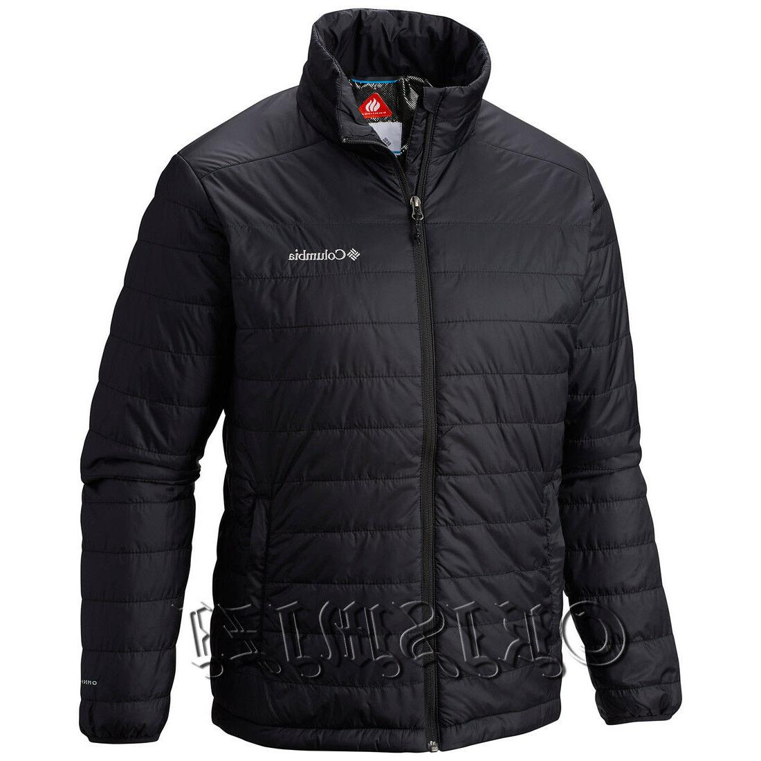 "New Mens Columbia ""Crested Butte II"" Omni-Heat Insulated Win"