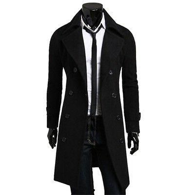Plus Size Warm Trench Jacket Breasted Coat Tops