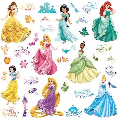 Roommates Rmk2199Scs Disney Princess Royal Debut Peel And St