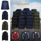 US Men's Winter Vest Sleeveless Puffer Warm Outwear Zipper P
