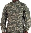 ACU DIGITAL CAMO ARMY MENS COMBAT UNIFORM SHIRT JACKET ROTHC