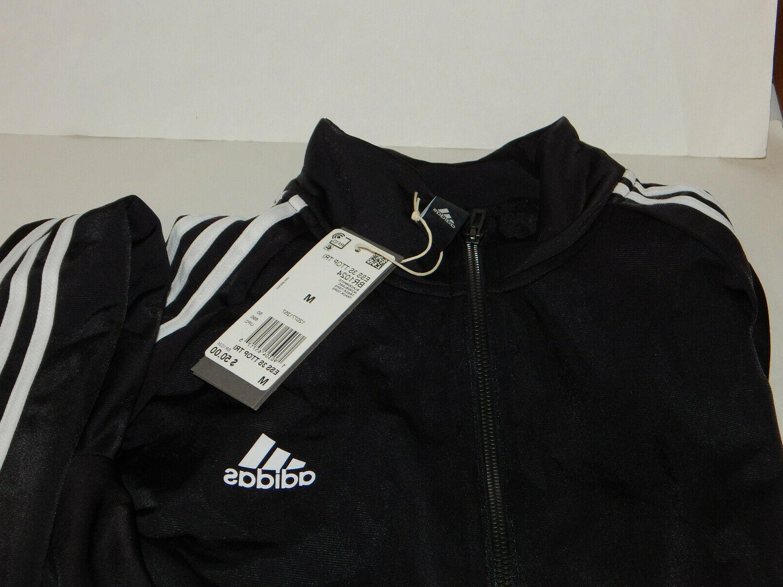 Adidas Stripe MED or Navy/Wht