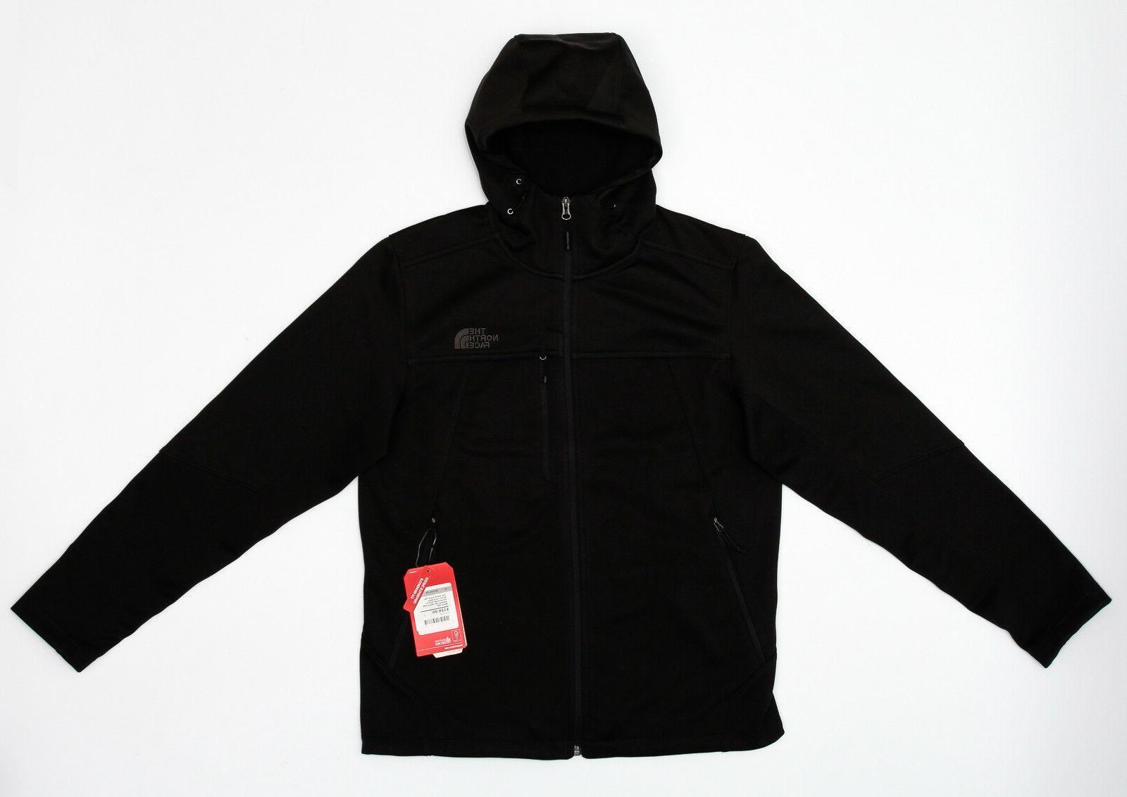 apex canyonwall hybrid tnf black hoodie jacket