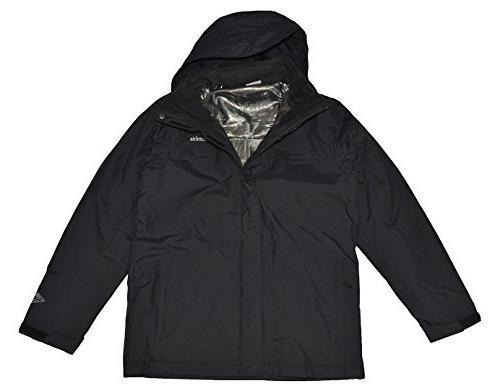 II Interchange Jacket-Black-Large
