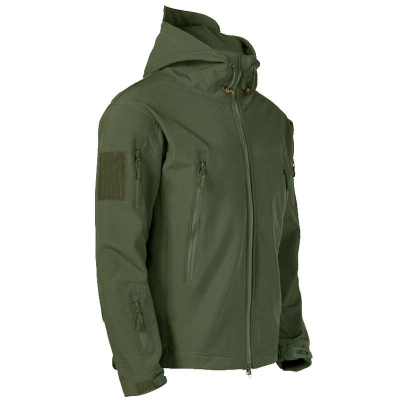 <font><b>Shell</b></font> Tactical Waterproof <font><b>jacket</b></font> <font><b>men</b></font> Pilot Hood Military Field bomber <font><b>Jacket</b></font>