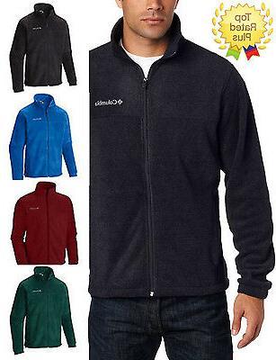AUTHENTIC Columbia MEN'S Full Zip Fleece Sweaters Jacket Siz