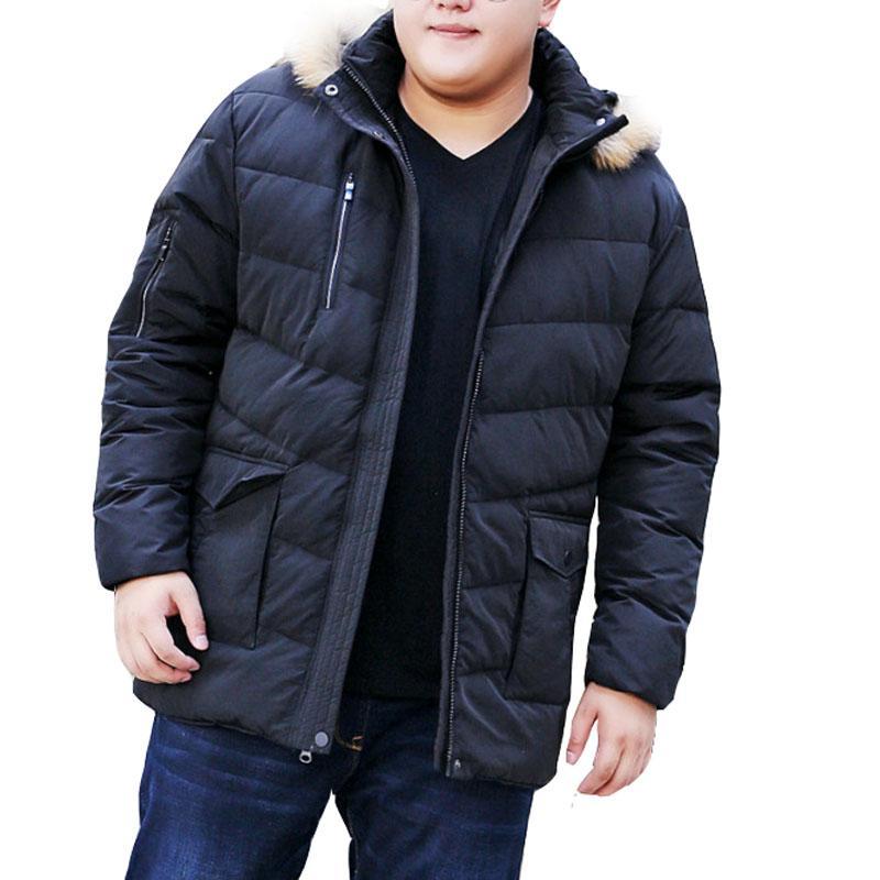 MFERLIER Winter thick <font><b>jackets</b></font> 7XL 9XL 10XL <font><b>large</b></font> keep warm Causal sleeve coats