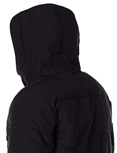 Tommy and Tall Arctic Full Quilted Jacket, Black,
