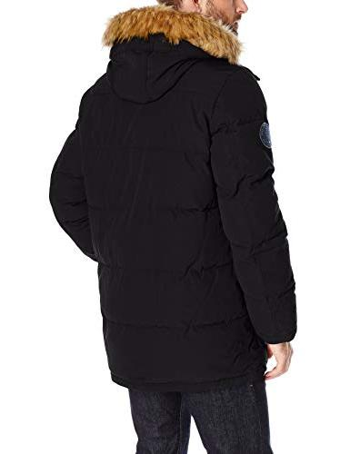 and Arctic Full Quilted Jacket, Black,