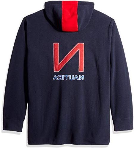 Nautica Big and Tall Nautex Full-Zip Jacket Sweatshirt,