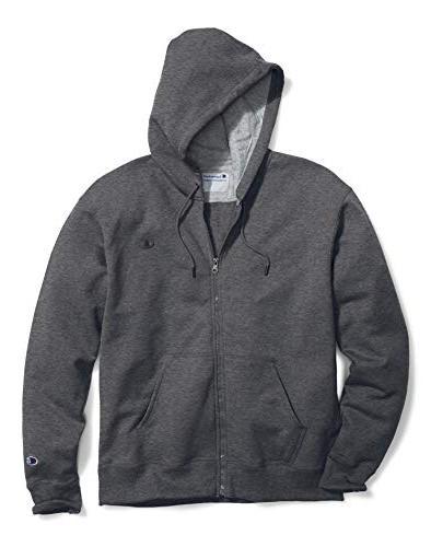 big tall zip fleece hoodie