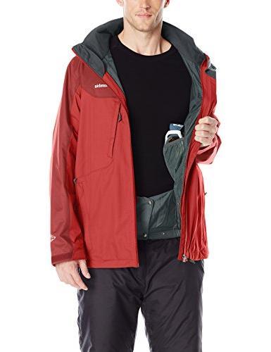 Columbia Men's Interchange Jacket, Mountain Red,