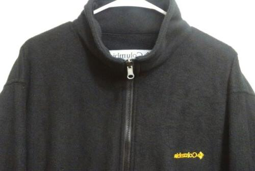 Columbia Black Fleece Interchange Jacket XXL 2XL