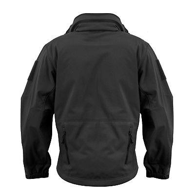 Black Special Military Tactical Soft Shell Rothco 9767