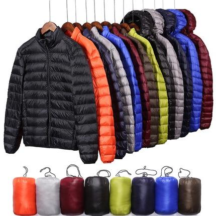 QUANBO Autumn <font><b>Light</b></font> <font><b>Jacket</b></font> Fashion Ultra-thin Coat 5XL