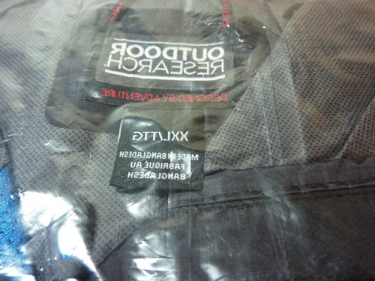 Brand New Research Helium Hybrid Shell Jacket Black
