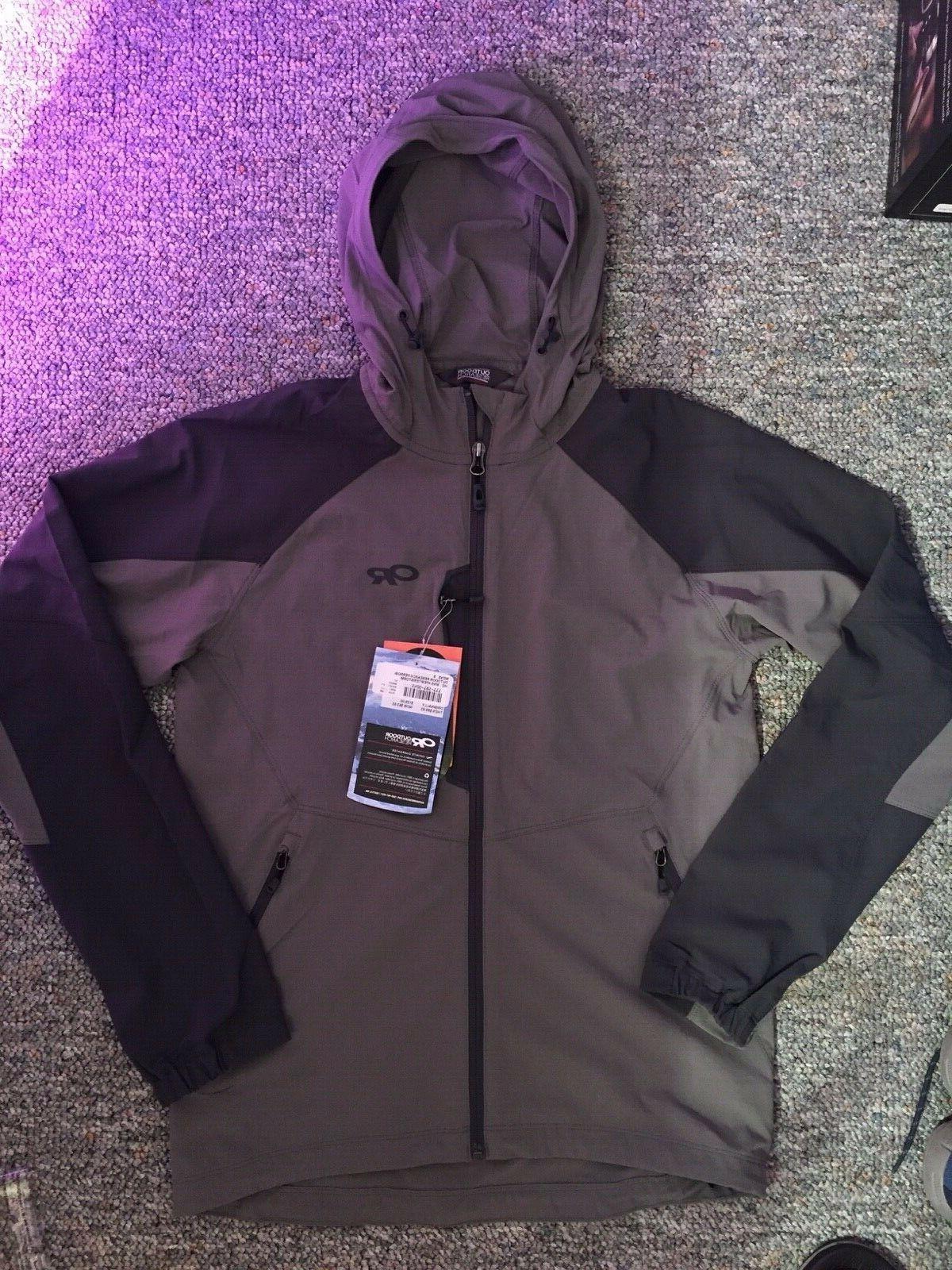 Brand New Men's Hooded Jacket