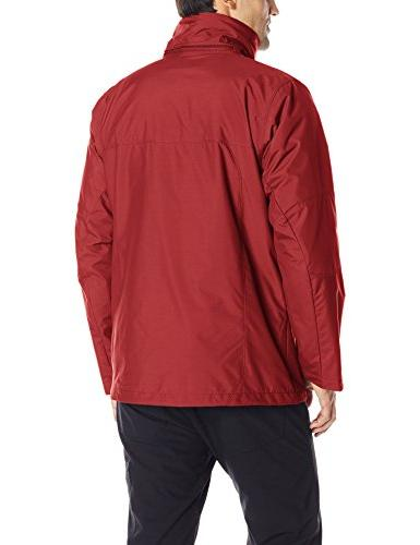 Columbia Men's Jacket, Red,
