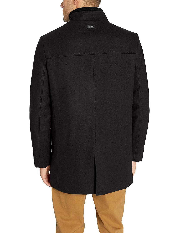 Calvin Men's Wool Walker Coat,