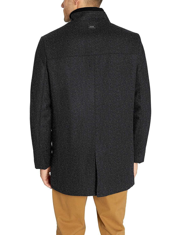 Calvin Klein Wool Walker Coat,