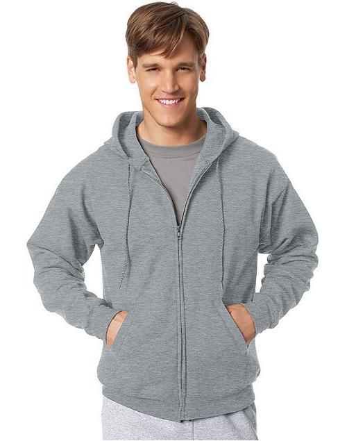comfortblend ecosmart zip hood