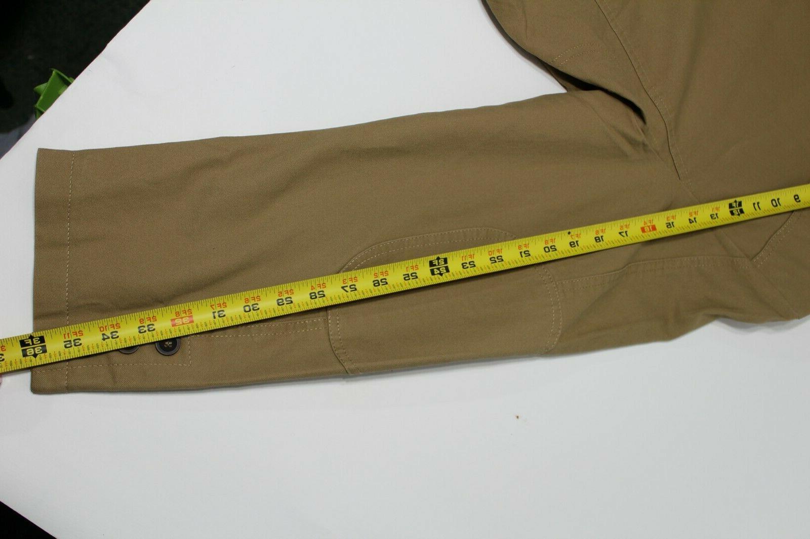 ChouYatou Jacket, Men Size Khaki, Button
