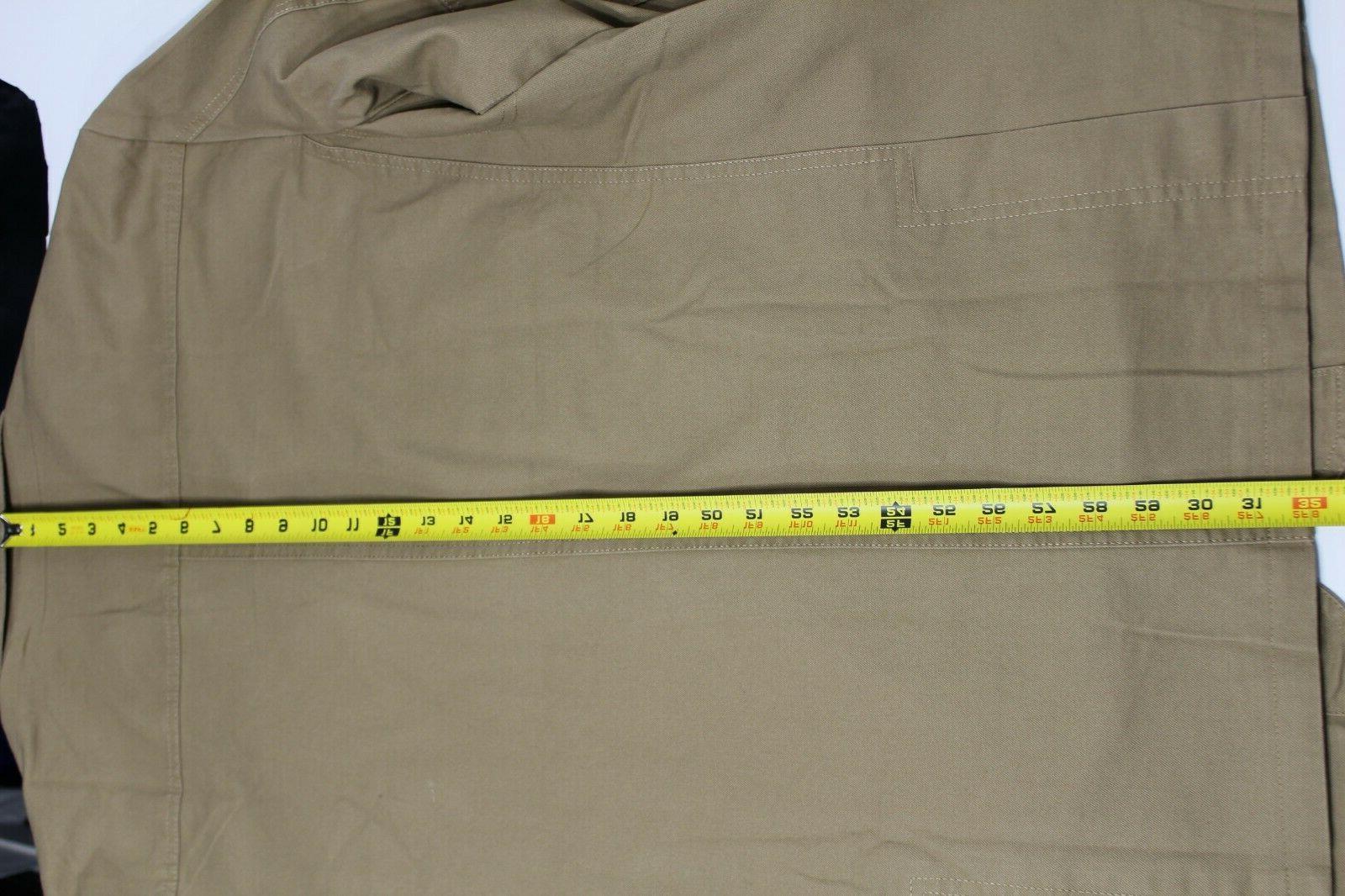 ChouYatou Cotton Suit Jacket, Khaki, Stripe Button