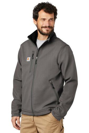 Carhartt Soft Shell Jacket Men's Charcoal FREE SHIPPING