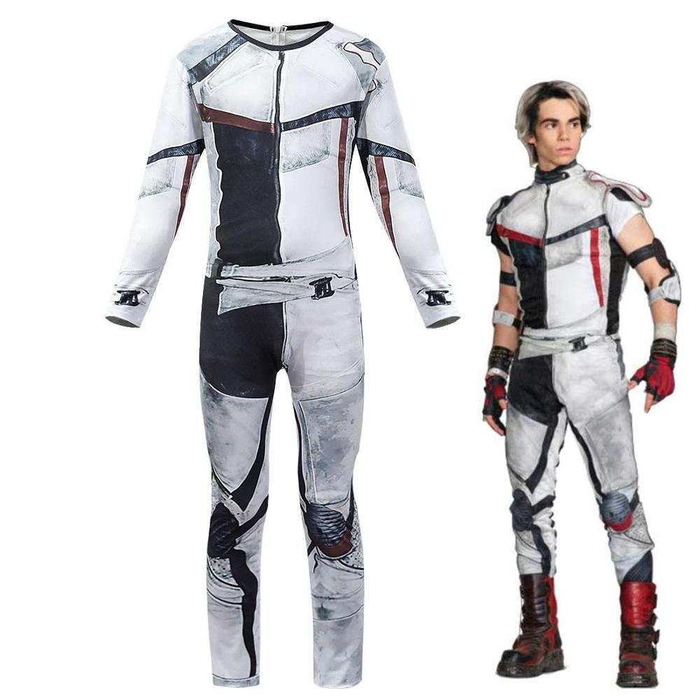 descendants 3 carlos jumpsuits rompers cosplay costume