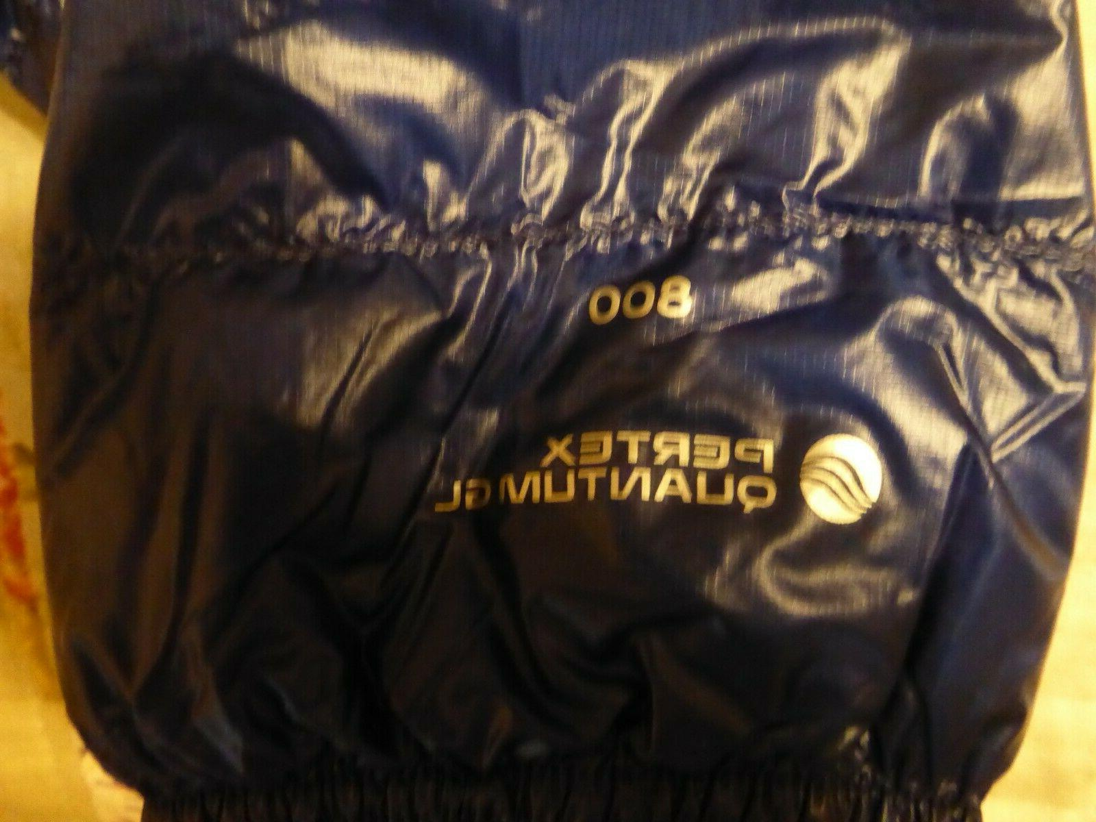 Outdoor Down Filament jacket Large Baltic Blue Warm!