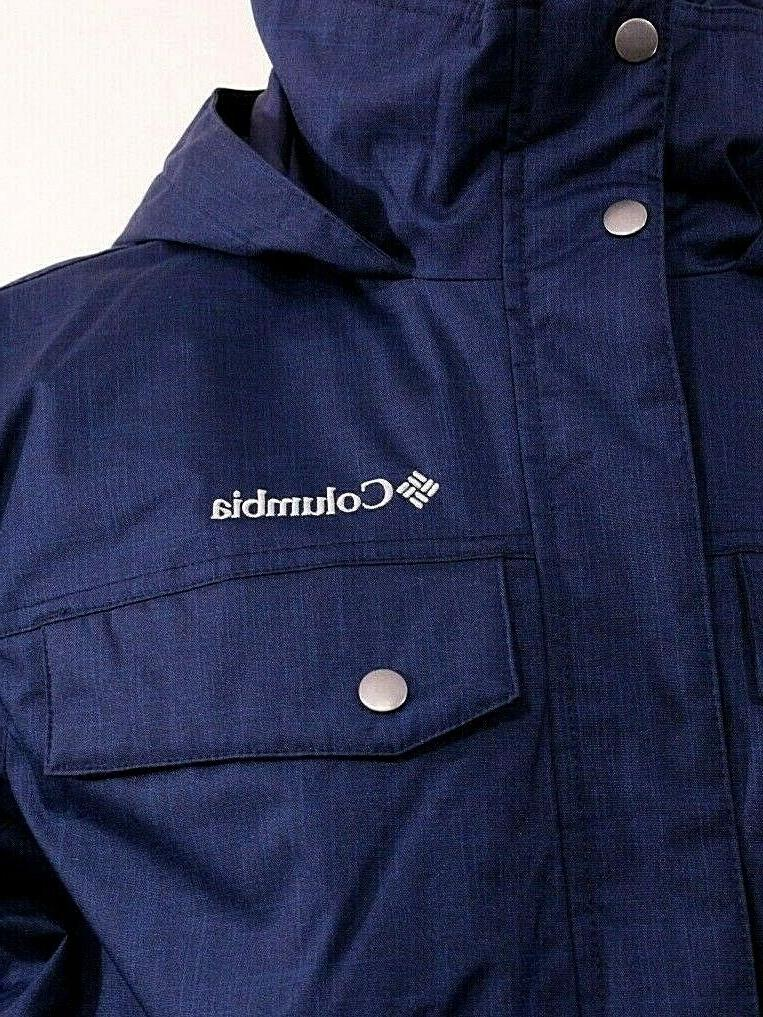 Columbia Jacket Blue Thermal