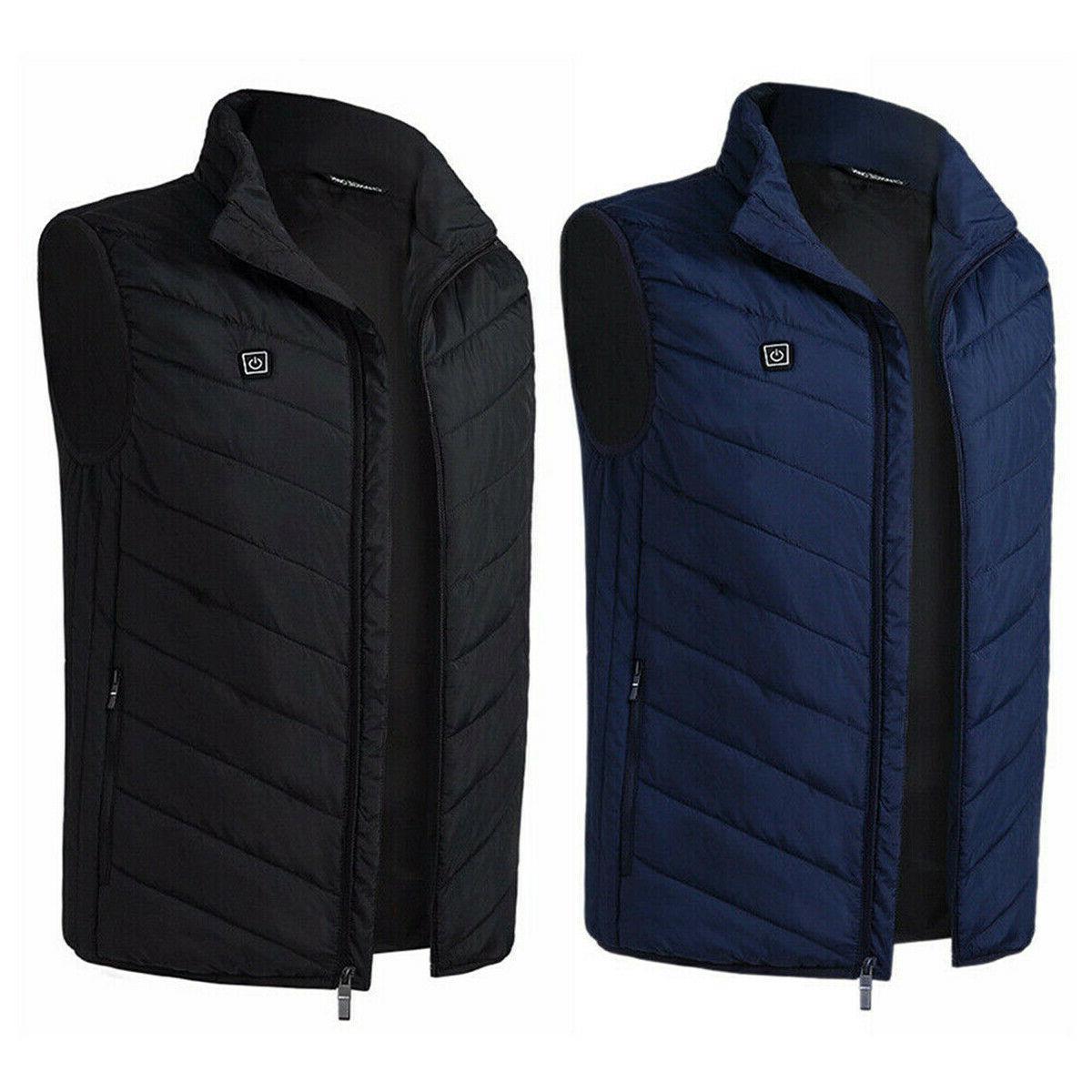 Electric USB Jacket Coat Heating Body Warmer