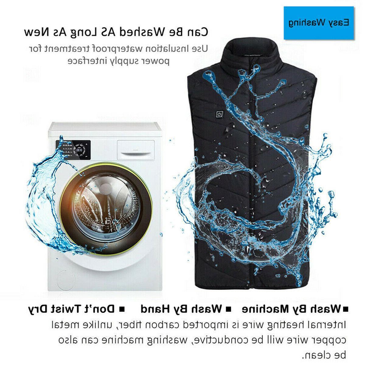 Electric Heating Cloth Body Warmer Men