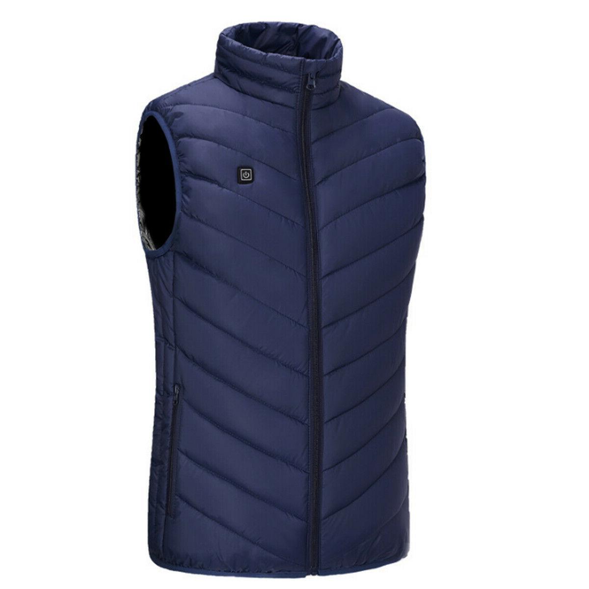 Electric Jacket Warm Heating Pad Warmer Men