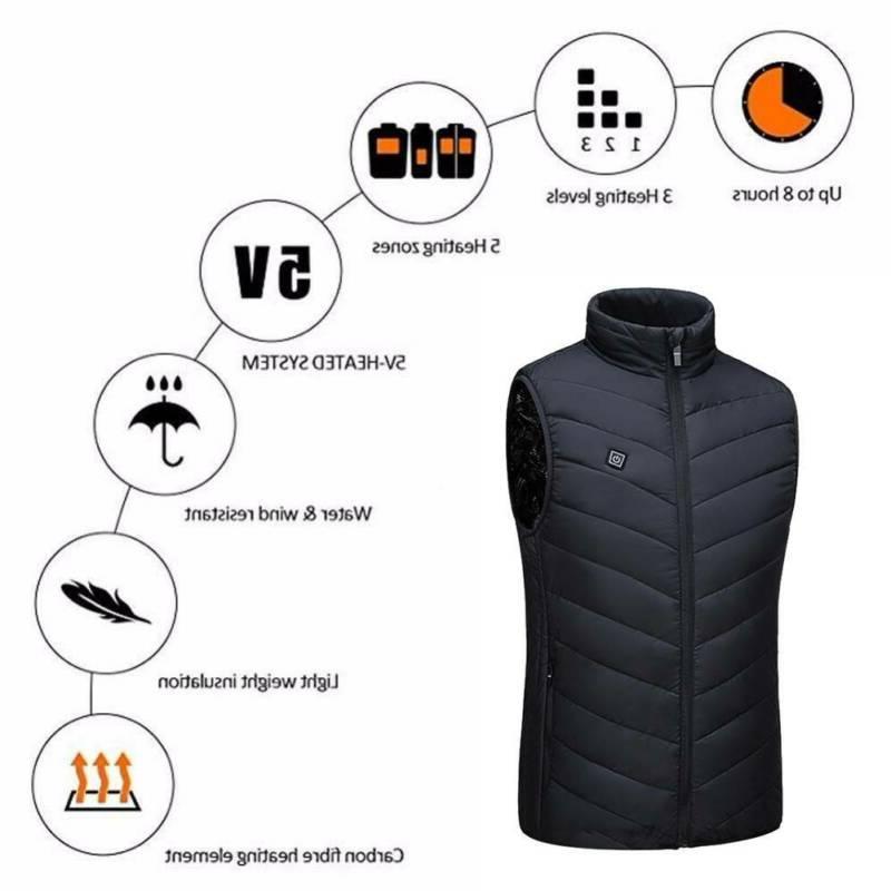 Electric Vest Jacket Heating
