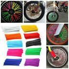 EP_ 36Pcs Motorcycle Bike Wheel Spoke Wraps Rims Skin Cover