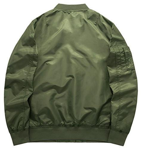 chouyatou Men's Essential Zipper Front Jacket